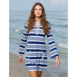 Strandjurk Blauw