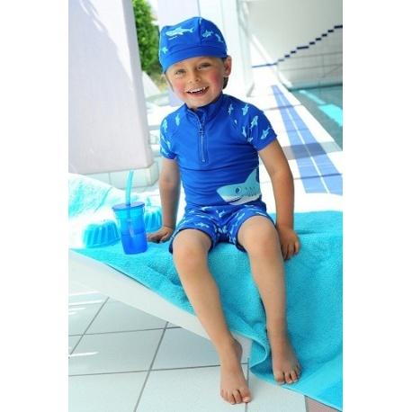 UV shirt en UV boardshort Haai