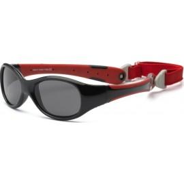 Baby Zonnebril Zwart Rood