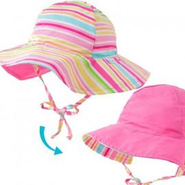 Zonnehoed Baby Pink Multistripe