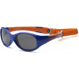 Kinder Zonnebril Navy Orange