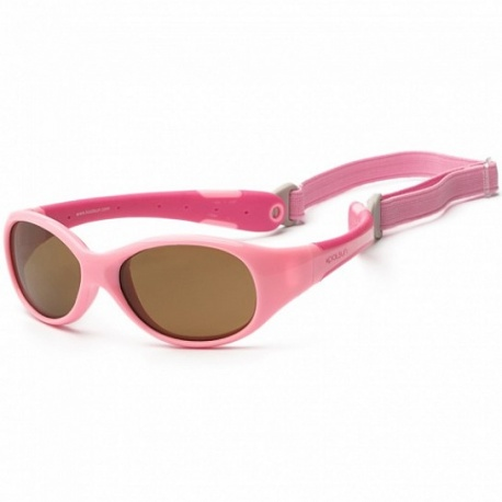 Zonnebril Baby - Pink & Hot Pink - 0-3 years - Koolsun - FLEX