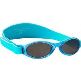 KidzBanz zonnebril - Aqua (2-5 jr) | Pueuter zonnebril aqua