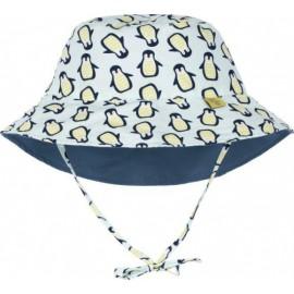 Zonnehoedje Pinguin tweezijdig | Baby zonnehoedje Pinguin