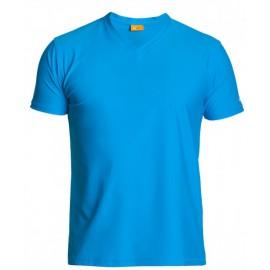 UV Shirt heren Hawaii Blue V-Hals