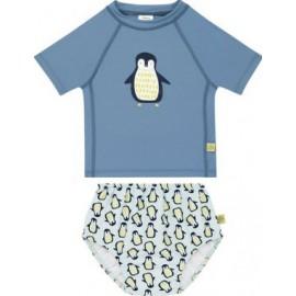 UV Shirt Pinguin en zwemluier Pinguin