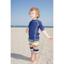 UV shirt & boardshort Multistripe