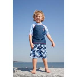 Baby UV shirt & boardshort Blue Crab