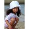 UV baby badpak Pink White stripes