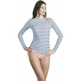 UV shirt navy stripe