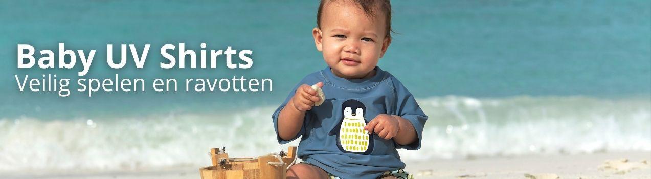 UV shirt baby | UV zwemshirt baby | grote collectie bij StoereKindjes