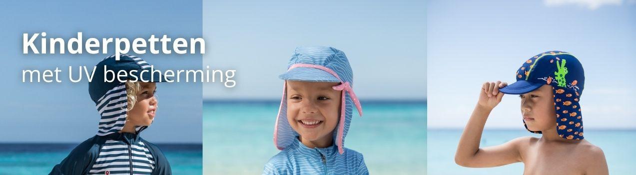 StoereKindjes: Kinderpetten | Kinder Pet met UV bescherming