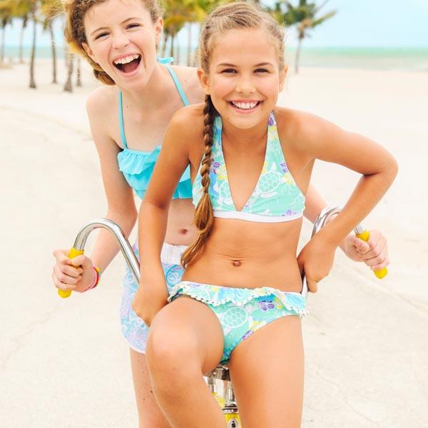 892310d9854811 meisjes bikini halter bikini meisjes sea turtle ...