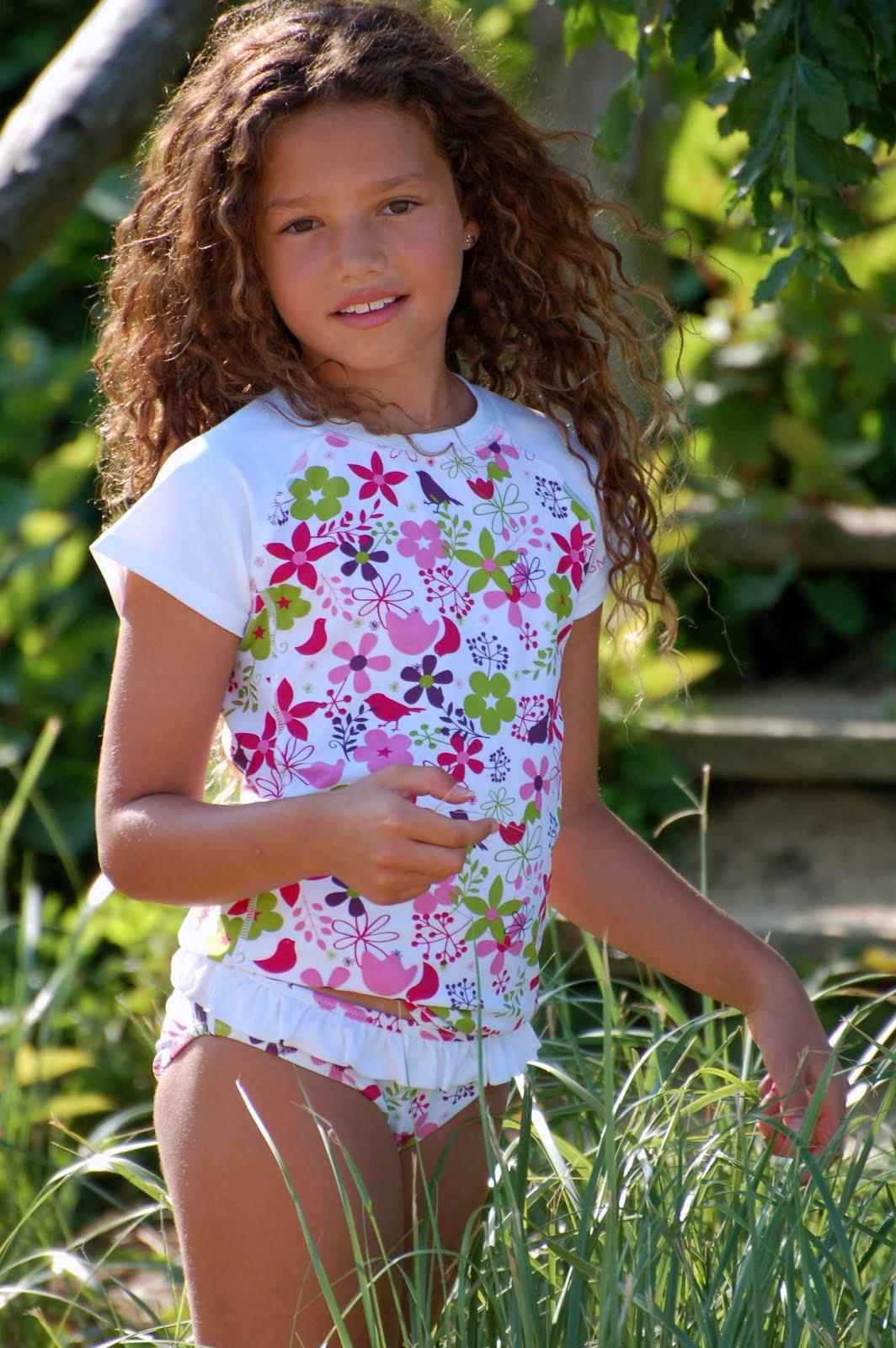 Leuke UV beschermende zwemkleding voor meisjes online bestellen