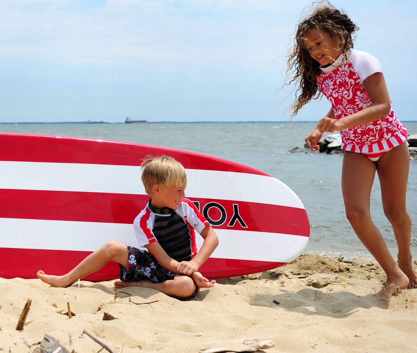 UV kinderkleding en UV zwemkleding voor kinderen / kids